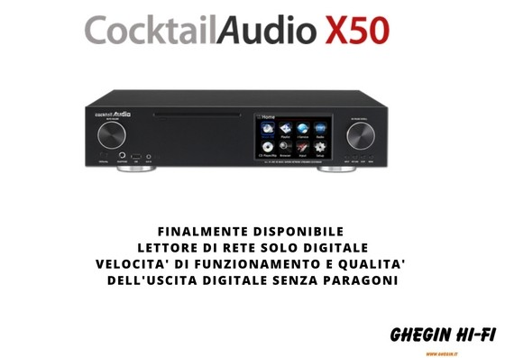 Cocktail Audio X50